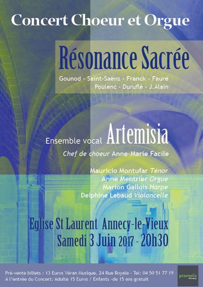 Concert Résonance Sacrée à Annecy