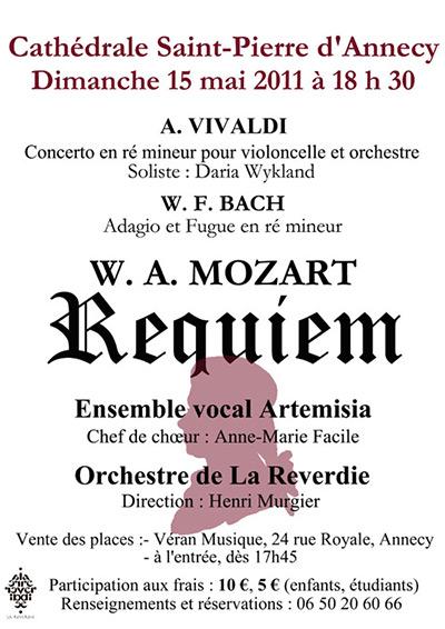 Mozart Requiem - Annecy