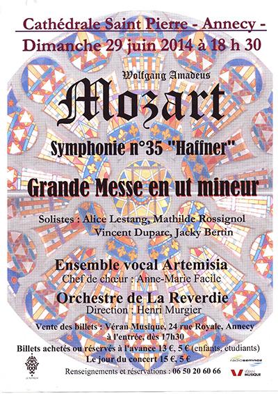 Mozart Messe en ut mineur KV 427