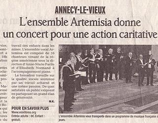 Concerts au profit de l'association « Voix libres »
