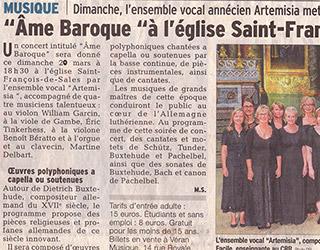 Âme Baroque à l'église Saint-François-de-Sales